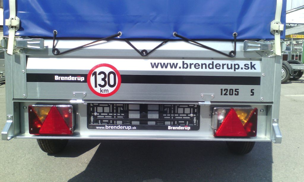 Brenderup 1205S + plachta 120 cm