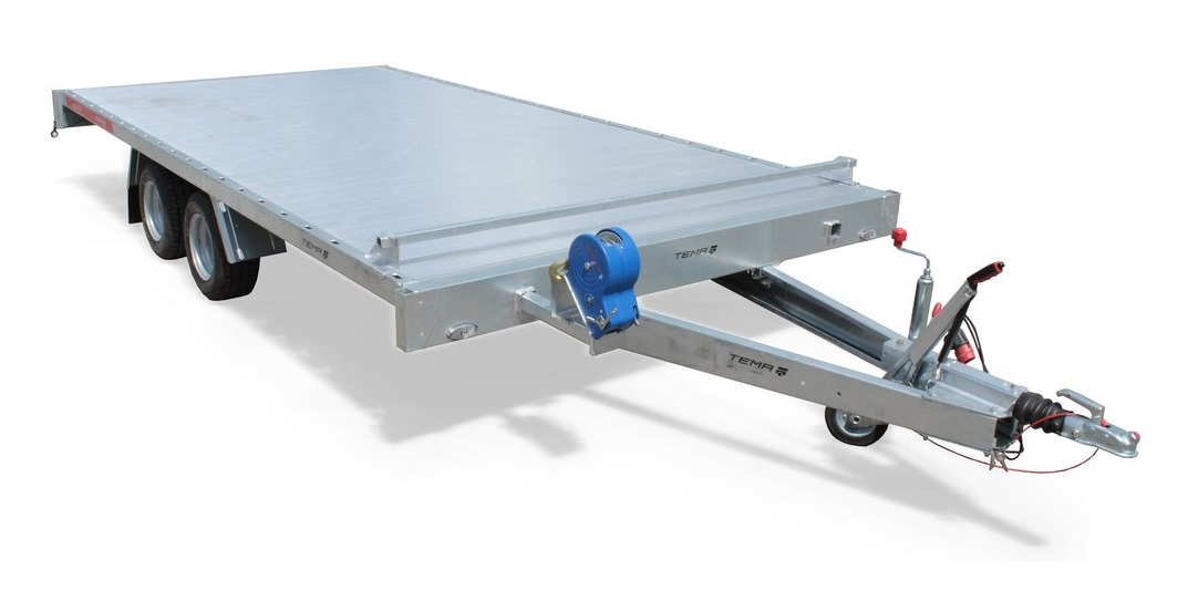 TEMARED CARPLATFORM 4020 S ALU, 3500 kg