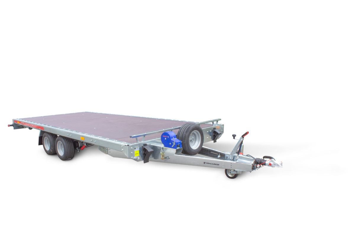 TEMARED CARPLATFORM 4521, 3000kg - preglejka